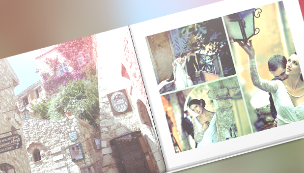 A creative way to use Instagram for your wedding and print a lovely photo book afterwards | blog.zoombook.com