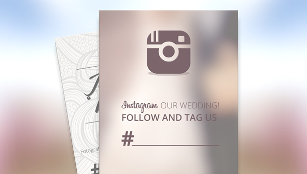 A creative way to use Instagram for your wedding | blog.zoombook.com