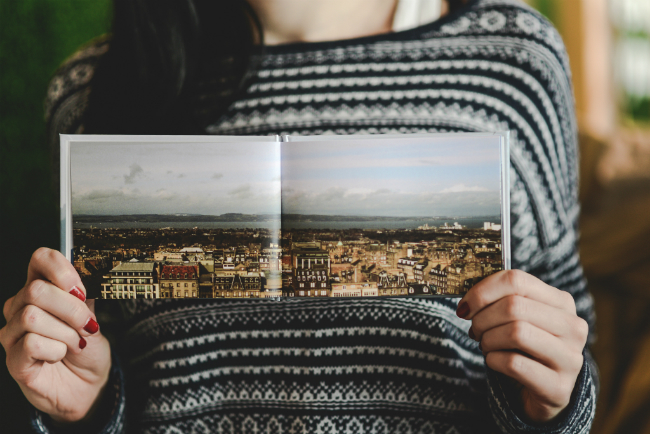 How to Make a Minimal Photo Book of Landscapes