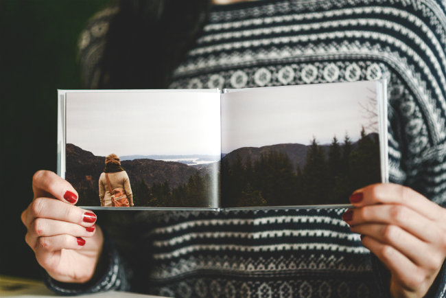 ZOOMBOOK - How to Make a Minimal Photo Book of Landscapes