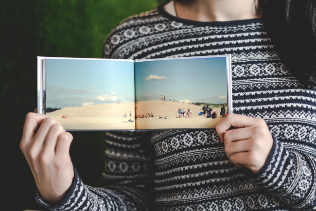 How to make a minimal photo book of landscapes | blog.zoombook.com
