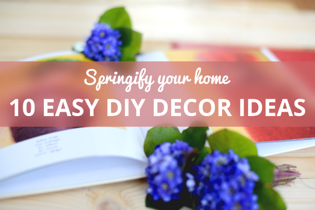 SPRINGIFY YOUR HOME: Let spring into your life with these home decor ideas | blog.zoombook.com