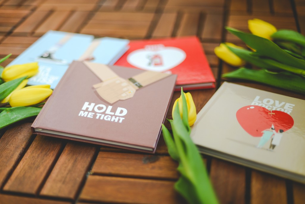 All you need is love...ly notebooks | blog.zoombook.com