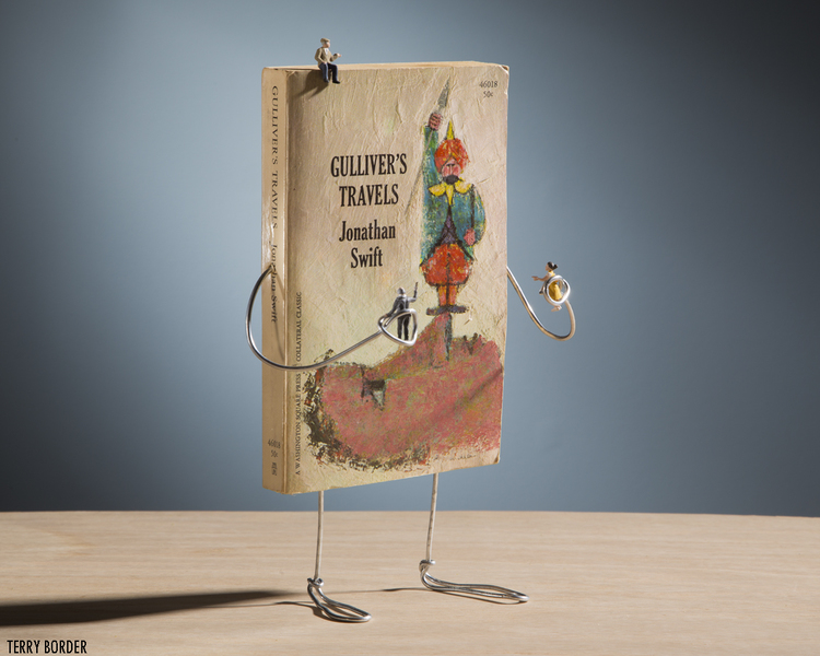 Wiry Limbs, Paper Backs: Your Favourite Books in Action | blog.zoombook.com
